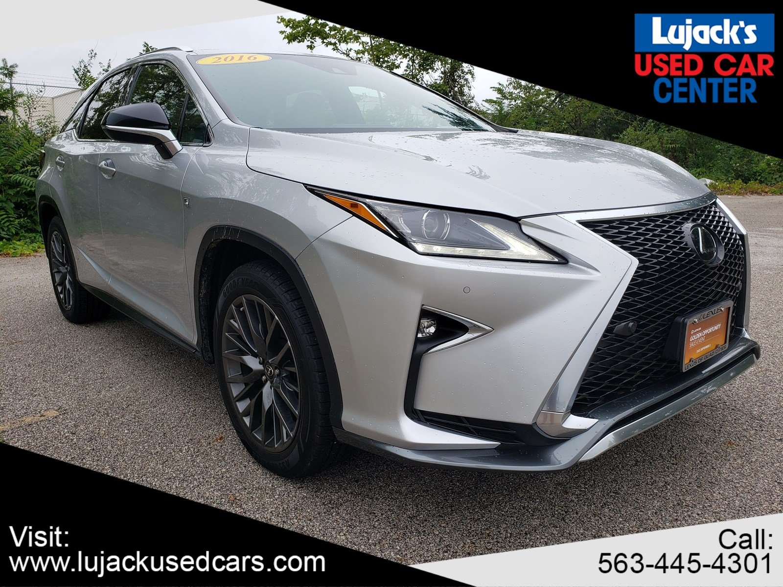 Pre-Owned 2016 Lexus RX 350 350 F Sport