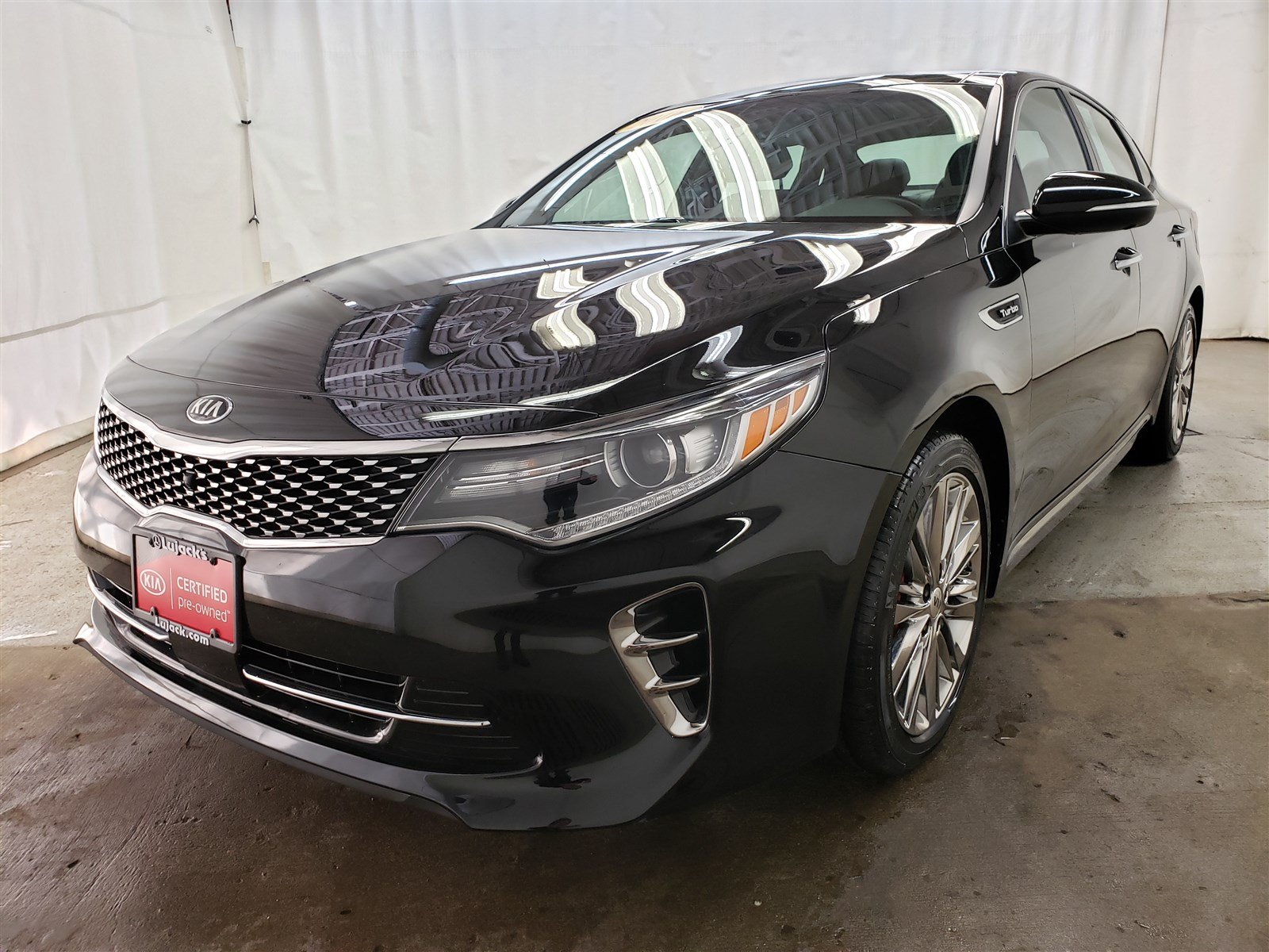 Certified Pre-Owned 2016 Kia Optima SXL Turbo