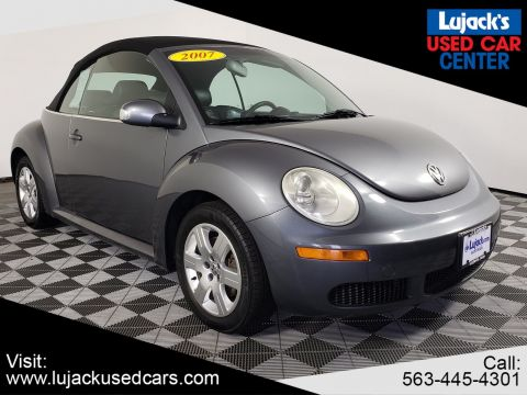 Pre-Owned 2007 Volkswagen New Beetle Convertible 2.5L